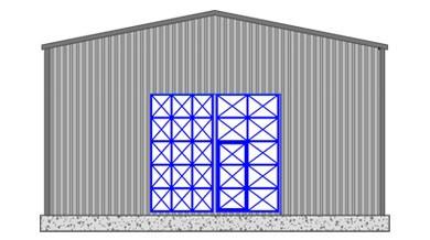 Çelik Hangar HN100