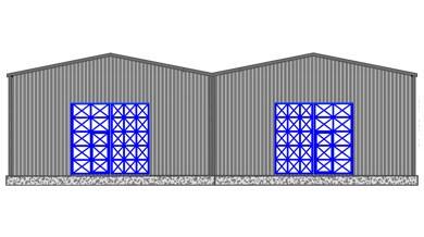 Çelik Hangar HN800
