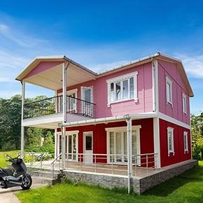 İki Katlı Prefabrik Villa