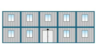 Ofis Konteyneri 210 m²