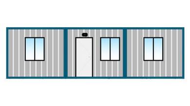 Ofis Konteyneri 63 m²