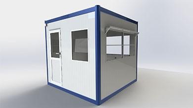 Panel Kabin 250x250