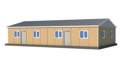 Prefabrik Acil Afet Binası 119 m²
