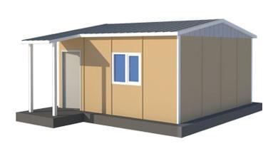 Prefabrik Acil Afet Binası 27 m²