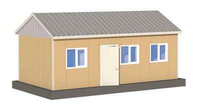 Prefabrik Acil Afet Binası 30 m²