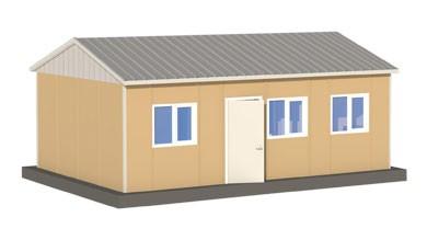 Prefabrik Acil Afet Binası 33 m²