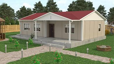 Prefabrik Ev 103 m²