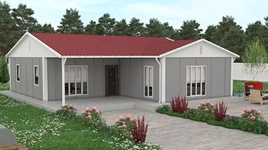 Prefabrik Ev 114 m²