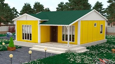 Prefabrik Ev 68 m²