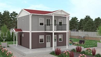 Prefabrik Konut 114 m²