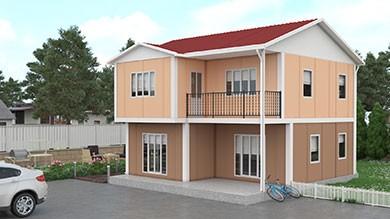 Prefabrik Konut 122 m²