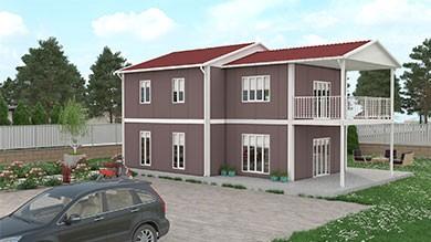 Prefabrik Konut 165 m²
