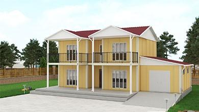 Prefabrik Konut 178 m²