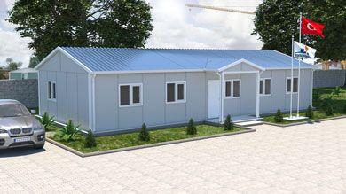 Prefabrik Ofis 101 m²