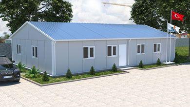 Prefabrik Ofis 136 m²