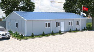 Prefabrik Ofis 147 m²