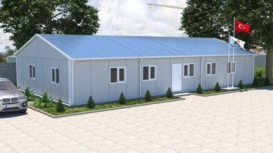 Prefabrik Ofis 158 m²