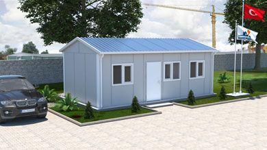 Prefabrik Ofis 30 m²