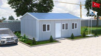 Prefabrik Ofis 39 m²
