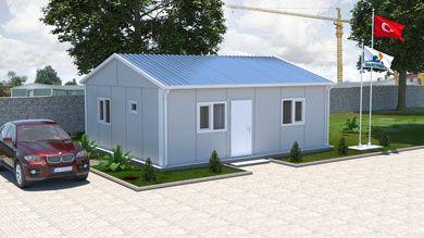 Prefabrik Ofis 50 m²