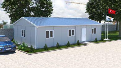 Prefabrik Ofis 82 m²