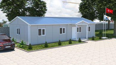 Prefabrik Ofis 92 m²