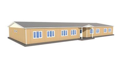Prefabrik Okul Binası 349 m²