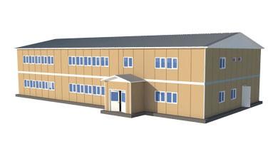 Prefabrik Okul Binası 729 m²