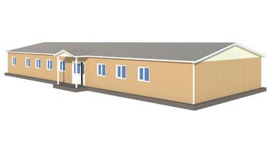 Prefabrik Sağlık Ocağı 301 m²
