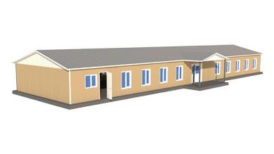 Prefabrik Sosyal Tesis Binası 304 m²