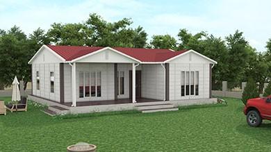 Prefabrik Villa 100 m²