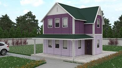Prefabrik Villa 101 m²