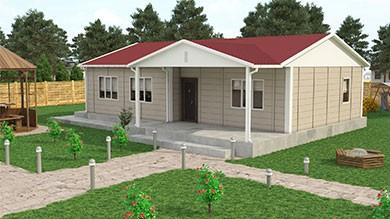 Prefabrik Villa 103 m²