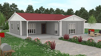 Prefabrik Villa 114 m²