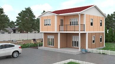 Prefabrik Villa 122 m²