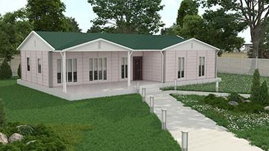 Prefabrik Villa 123 m²