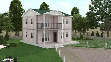 Prefabrik Villa 128 m²
