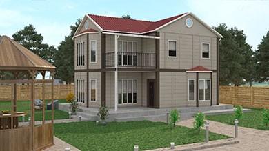 Prefabrik Villa 131 m²