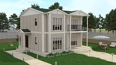 Prefabrik Villa 136 m²