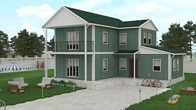 Prefabrik Villa 145 m²