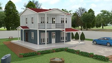 Prefabrik Villa 149 m²