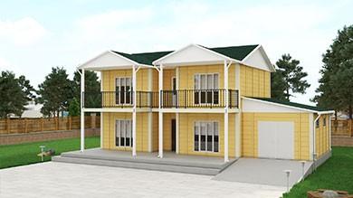 Prefabrik Villa 178 m²