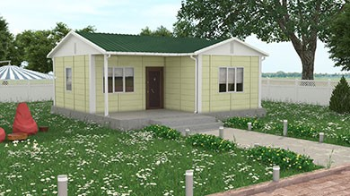 Prefabrik Villa 49 m²