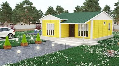 Prefabrik Villa 68 m²