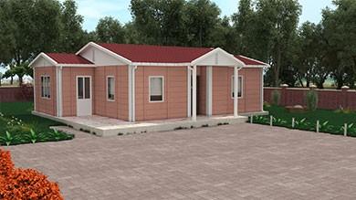 Prefabrik Villa 72 m²