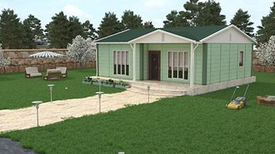 Prefabrik Villa 74 m²