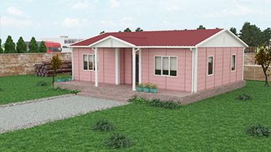 Prefabrik Villa 81 m²