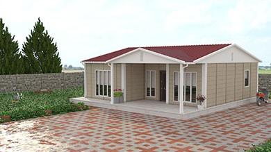 Prefabrik Villa 85 m²