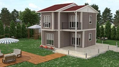 Prefabrik Villa 90 m²