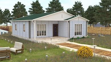 Prefabrik Villa 92 m²